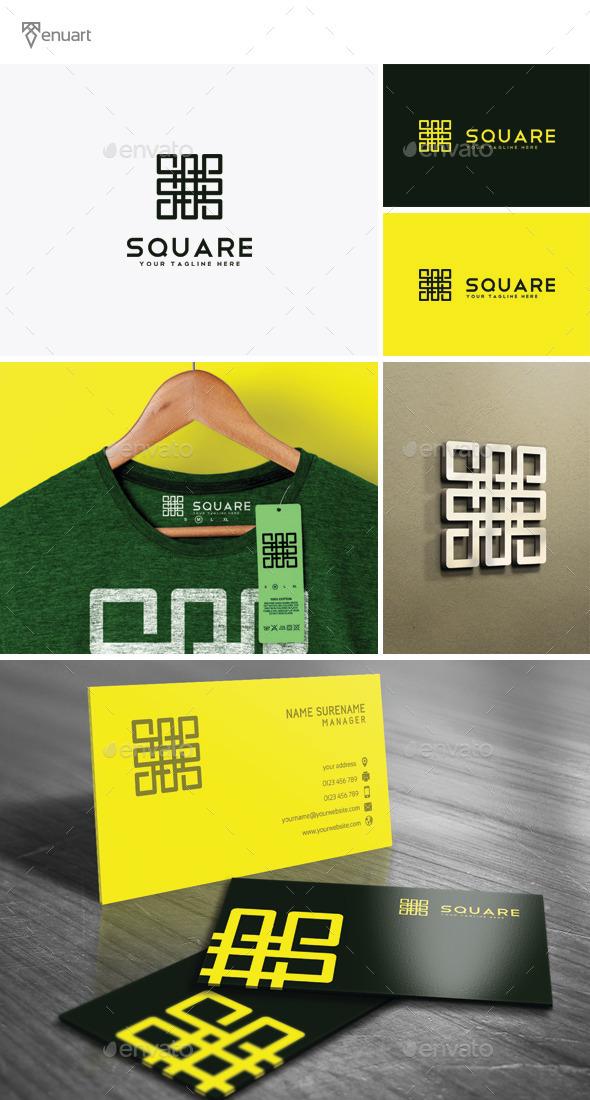GraphicRiver Square Logo 11887361