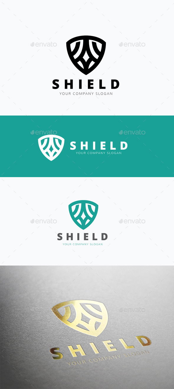 GraphicRiver Shield Logo 11887813