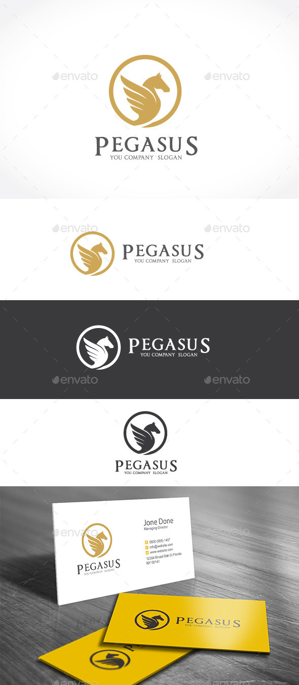 GraphicRiver Pegasus 11888375