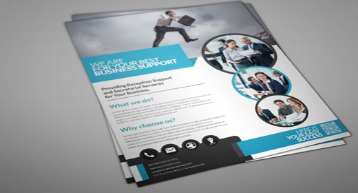 Professional Creative  Business Flyer Template