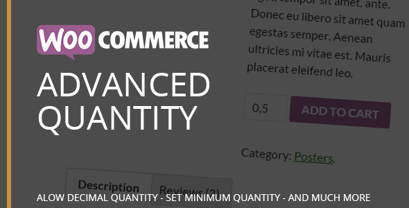 CodeCanyon WooCommerce Advanced Quantity 11861326