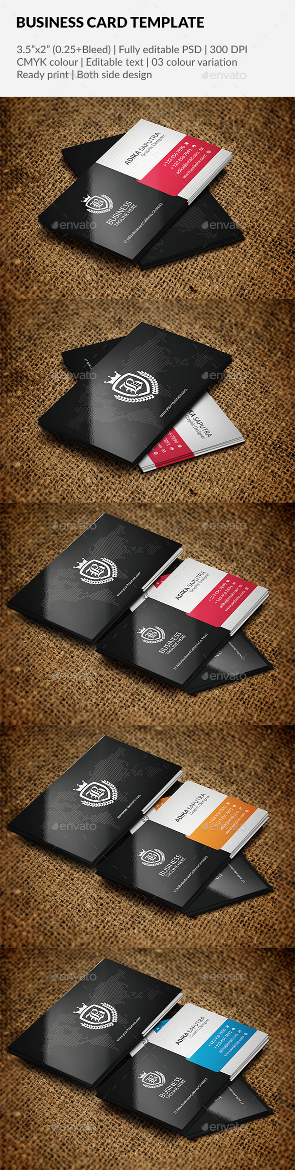 GraphicRiver Business Card Template 11889743