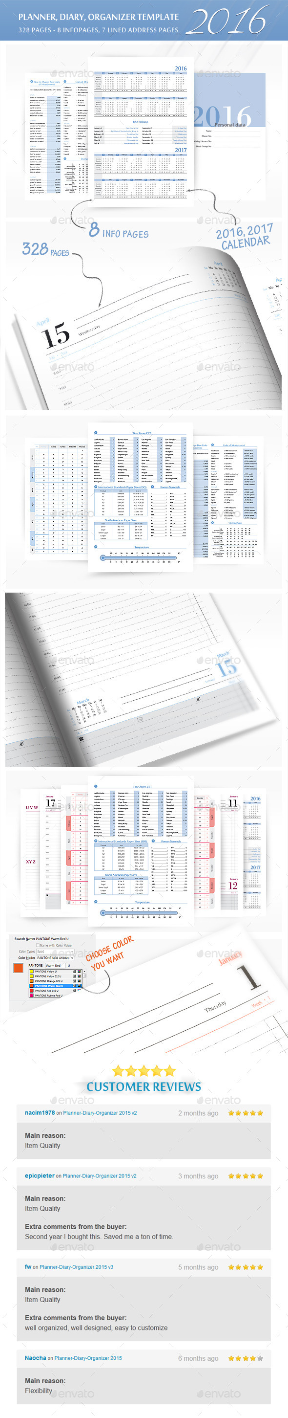GraphicRiver Planner-Diary-Organizer 2016 11889801