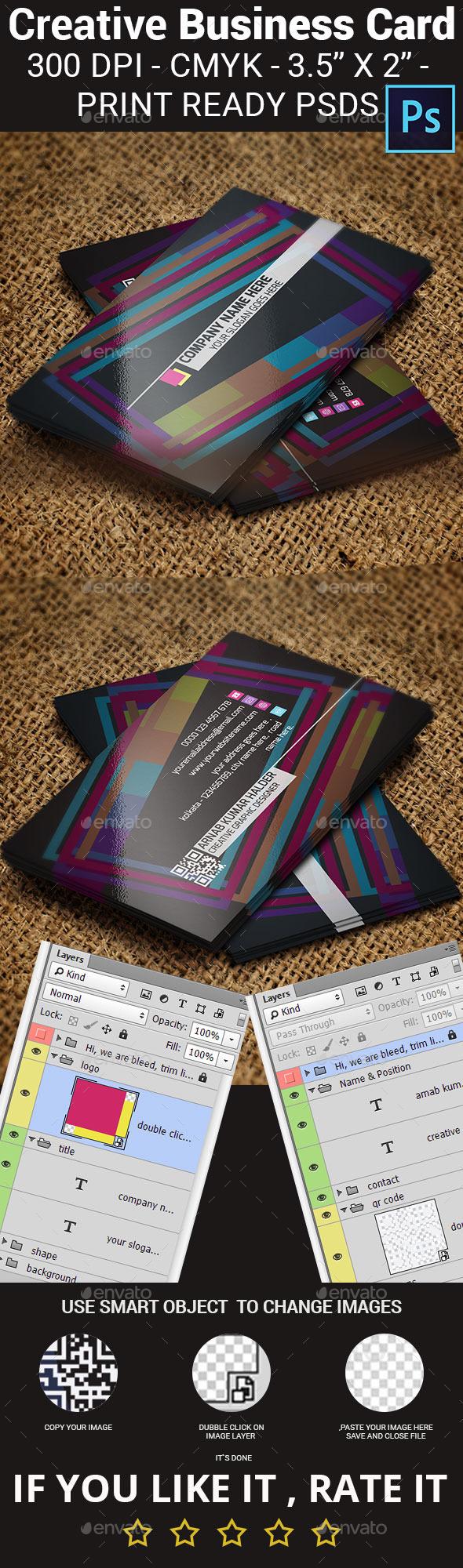 GraphicRiver Creative Business Card 11883337