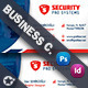Security Business Card Templates - GraphicRiver Item for Sale
