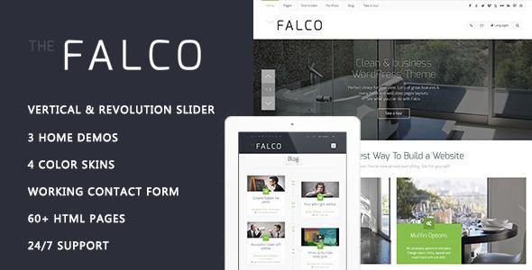 ThemeForest Falco Responsive Multi-Purpose HTML Template 11890041