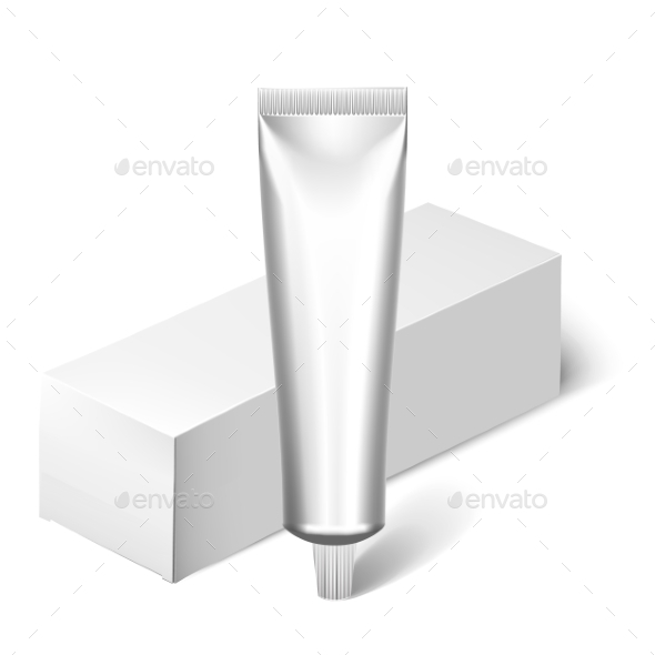 GraphicRiver Blank Cosmetics Packages Tube Template 11890046