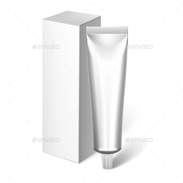 GraphicRiver Blank Cosmetics Packages Tube Template 11890047
