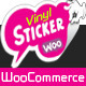 WooCommerce Vinyl Stickers Labels Design