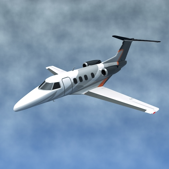 3DOcean Embraer Phenom 100 private jet 11890302