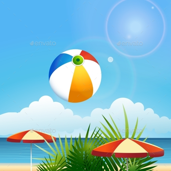 GraphicRiver Summer Beach 11890888