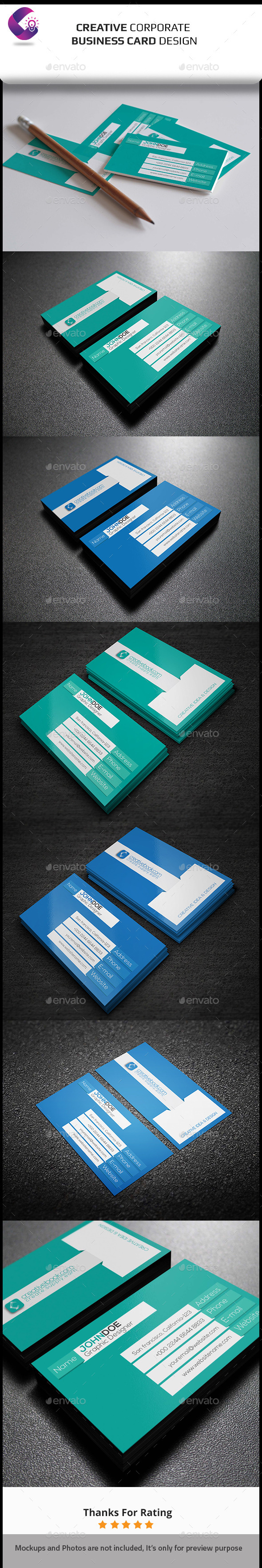 GraphicRiver Corporate Business Card 11882522