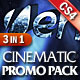 EPICUS 3in1: Cinematic Promo Pack - VideoHive Item for Sale