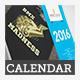 2016 Desktop Calendar Template - GraphicRiver Item for Sale