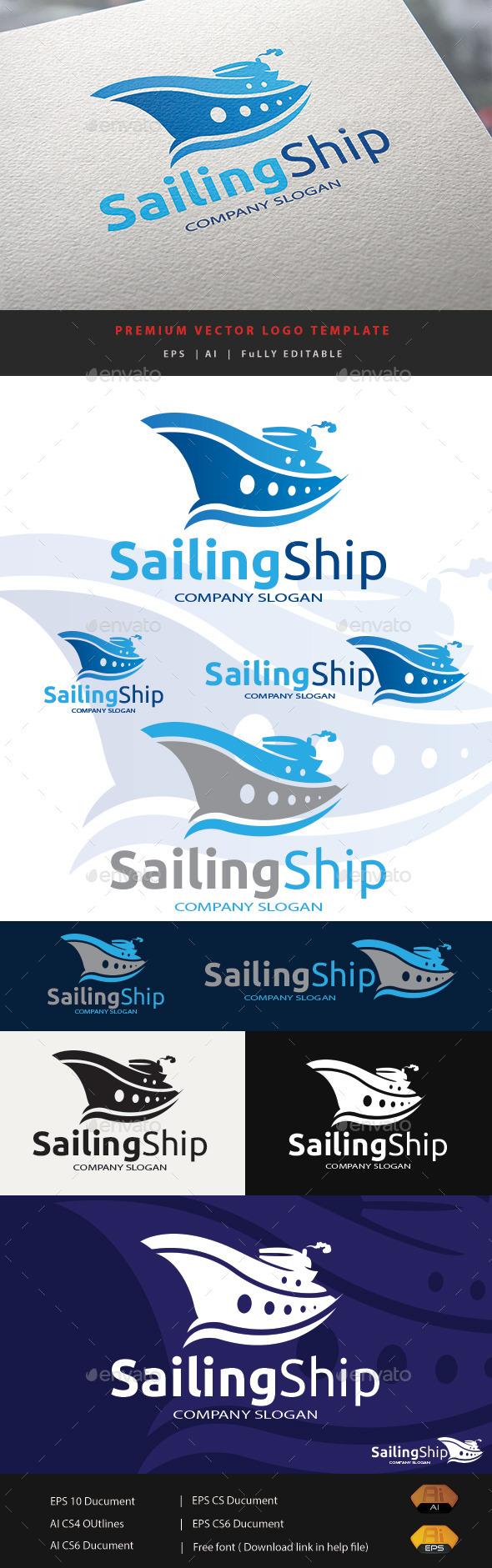 GraphicRiver Sailing Ship 11891368