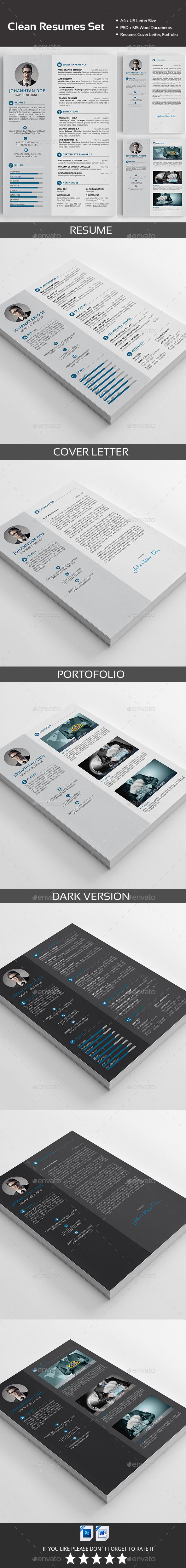 GraphicRiver Resume 11891467