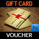 Gift Voucher Card Template Vol 17 - GraphicRiver Item for Sale