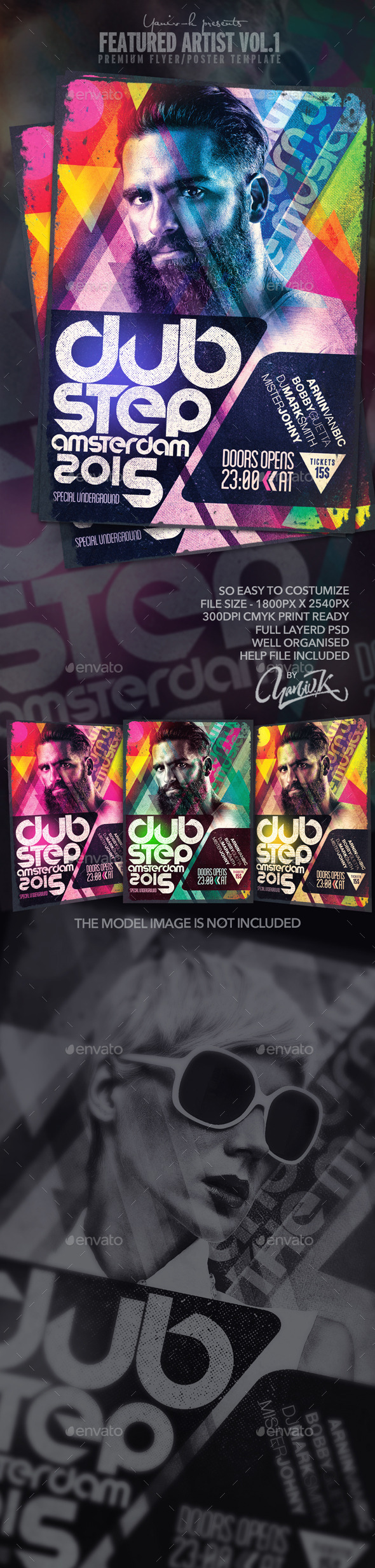 GraphicRiver Featured Artist Vol.1 Electro Dj 11873054