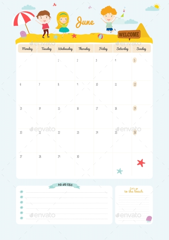 GraphicRiver Calendar Diary 2016 With Seasonal Themes 11891612