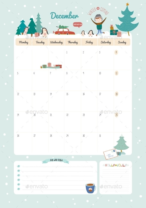 GraphicRiver Calendar Diary 2016 With Seasonal Themes 11891624