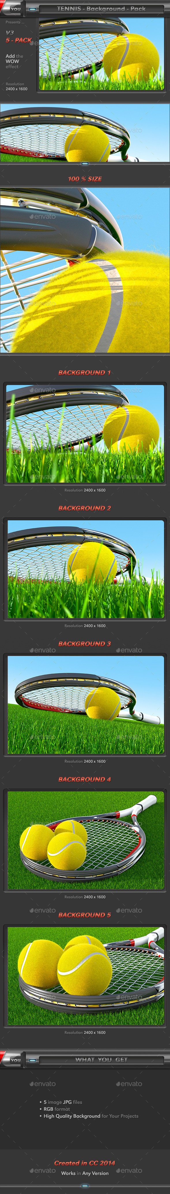 GraphicRiver Tennis Background Pack 3 11891666
