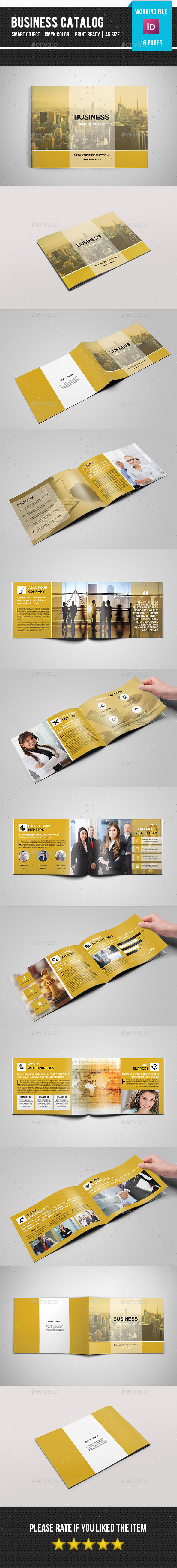 GraphicRiver A5 Corporate Catalog-V173 11891739