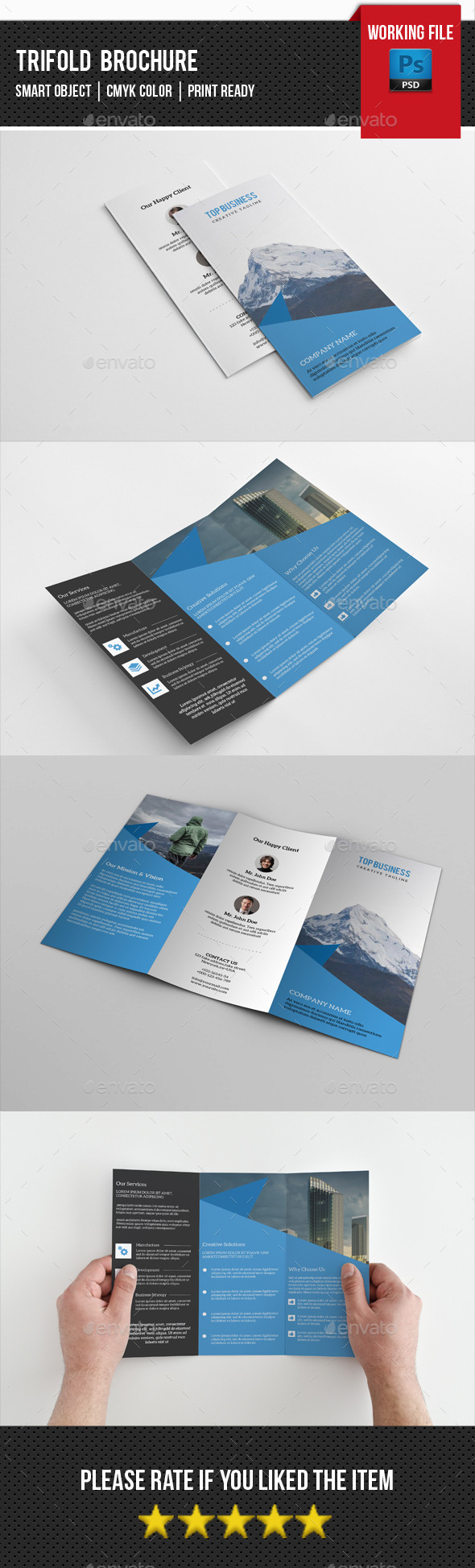 GraphicRiver Business Trifold Brochure-V237 11891829