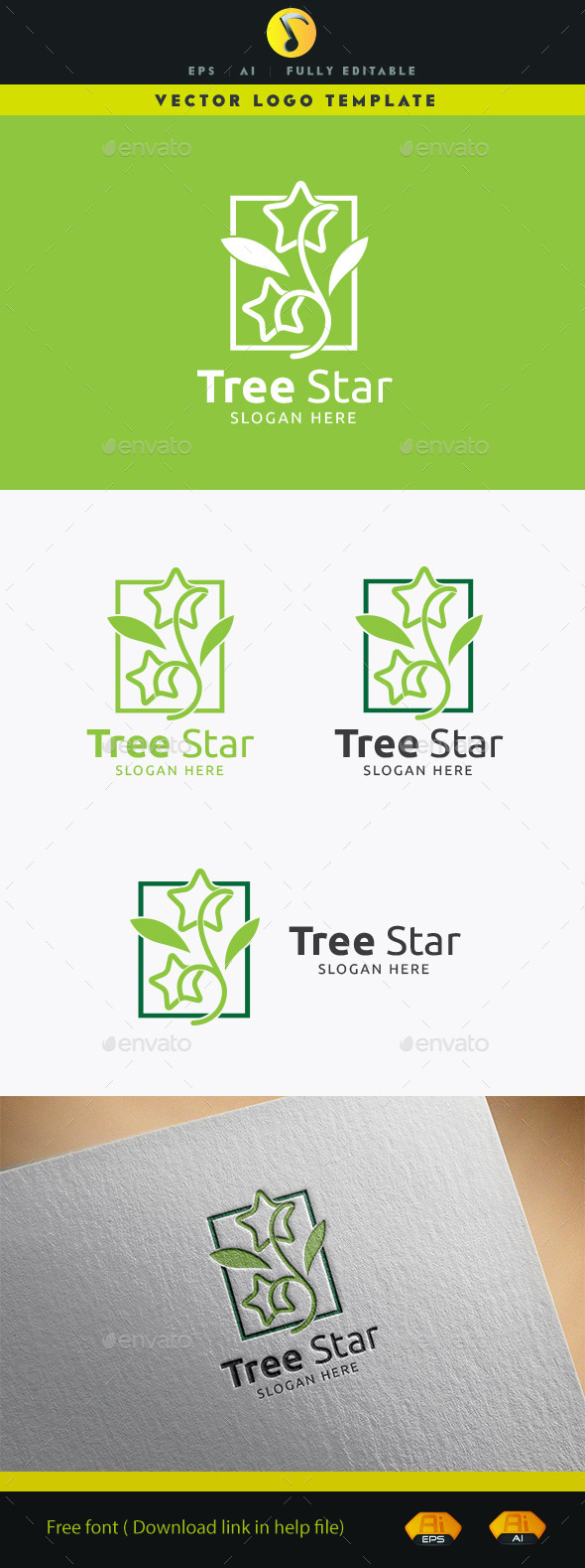 GraphicRiver Tree Star 11891921