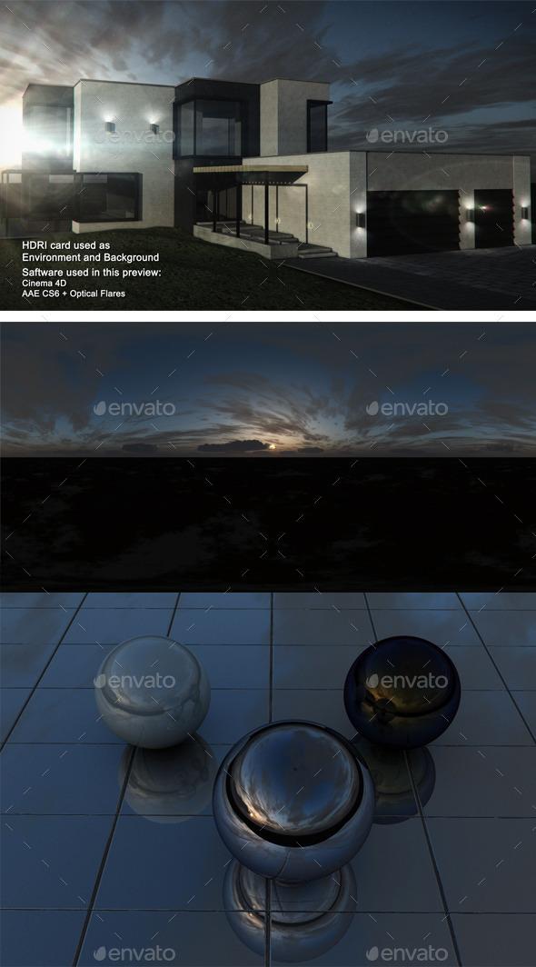 Sunset Desert 24 - 3DOcean Item for Sale
