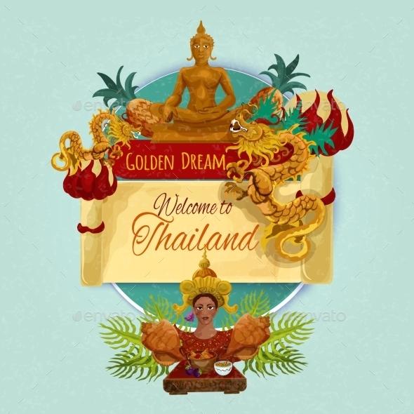 GraphicRiver Thailand Touristic Poster 11892003