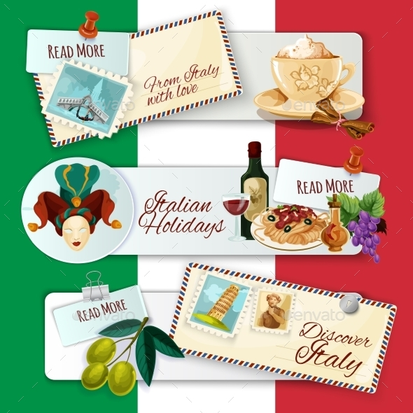 GraphicRiver Italy Touristic Banners 11892011