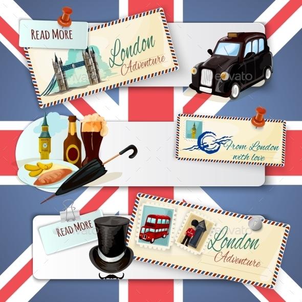 GraphicRiver London Touristic Banner Set 11892017