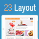 23 Tablet Based Layout Templates - GraphicRiver Item for Sale