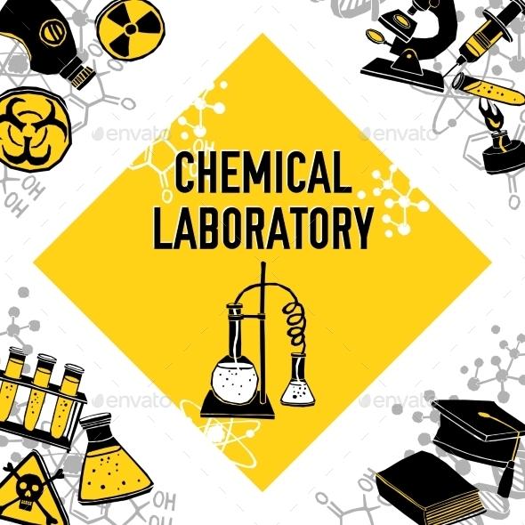 GraphicRiver Laboratory Corner Concept 11892051