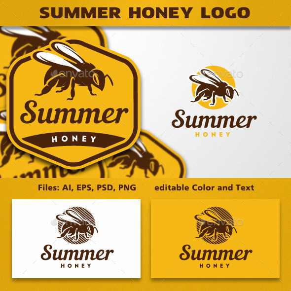 GraphicRiver Bee Logo Template 11892105