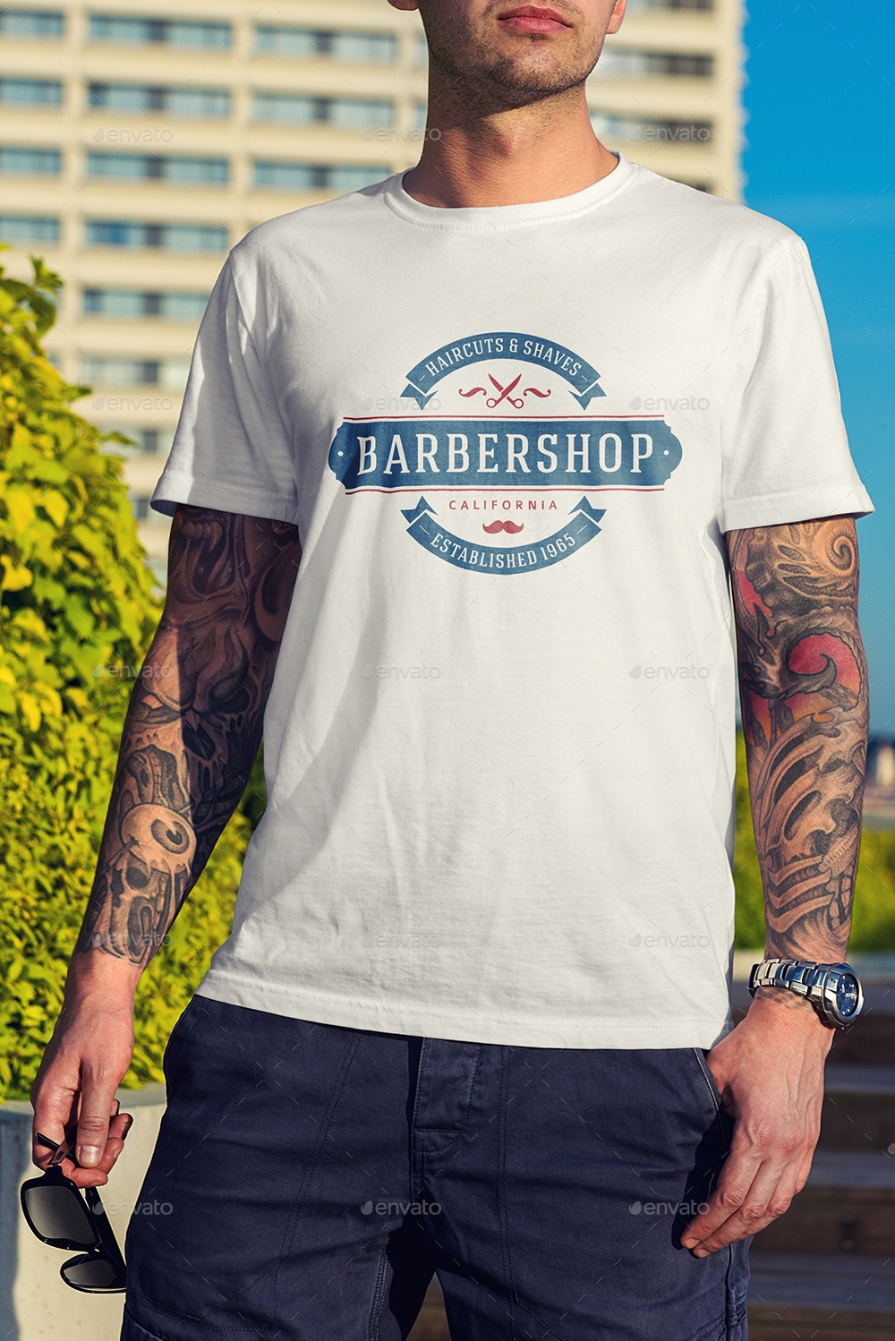 T-Shirt Mock-Up / Street Edition by Genetic96   GraphicRiver