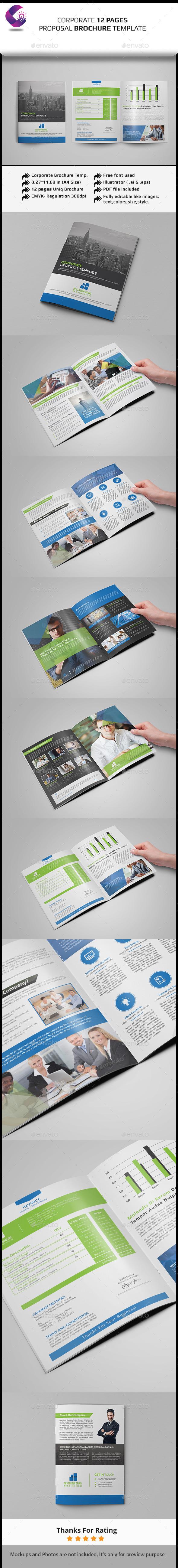 GraphicRiver Corporate Brochure Template- Multipurpose 11892181
