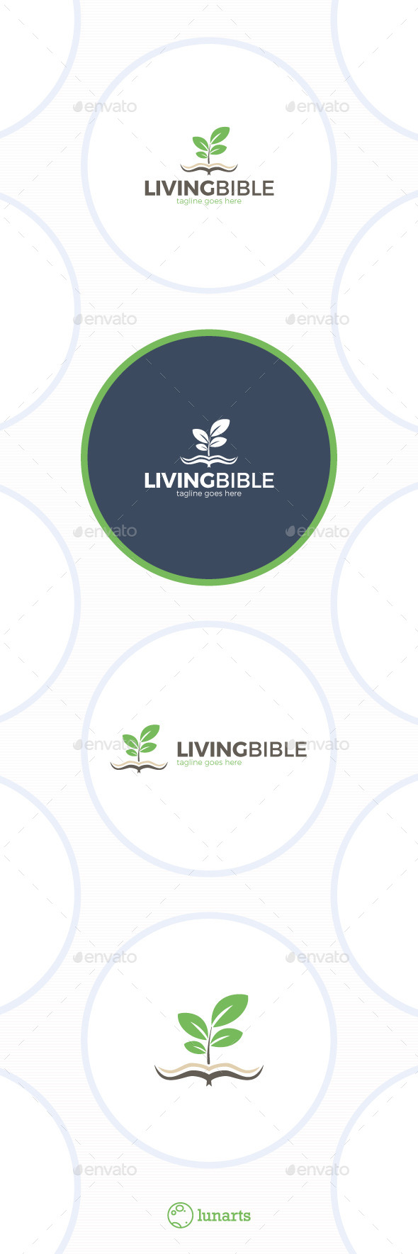 GraphicRiver Living Bible Logo 11892190