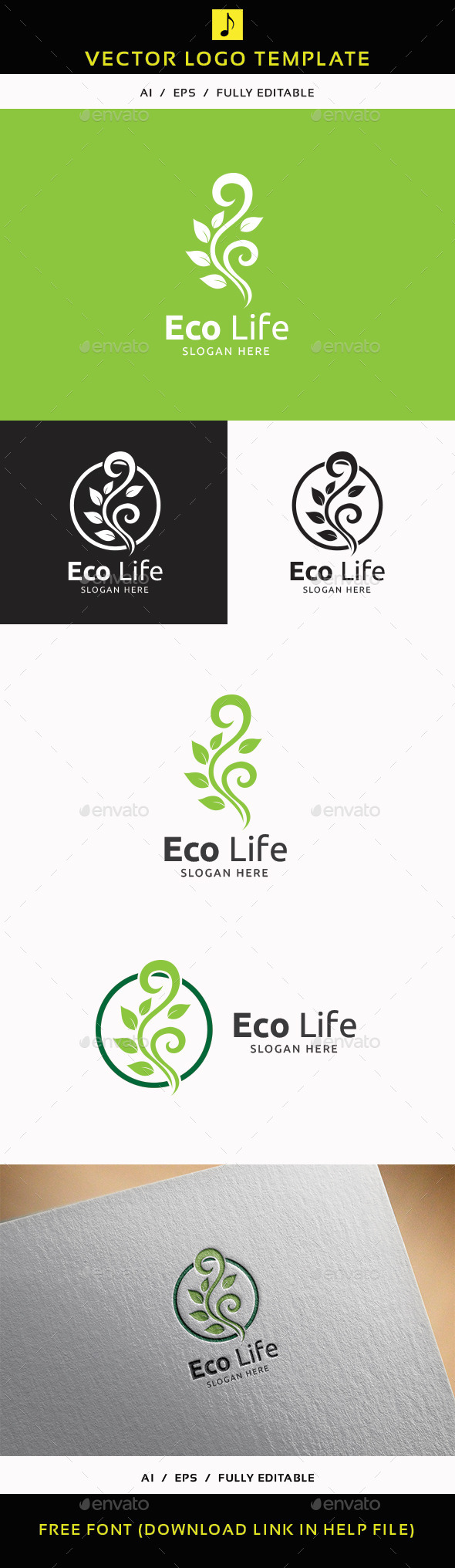 GraphicRiver Eco Life V.2 11892263