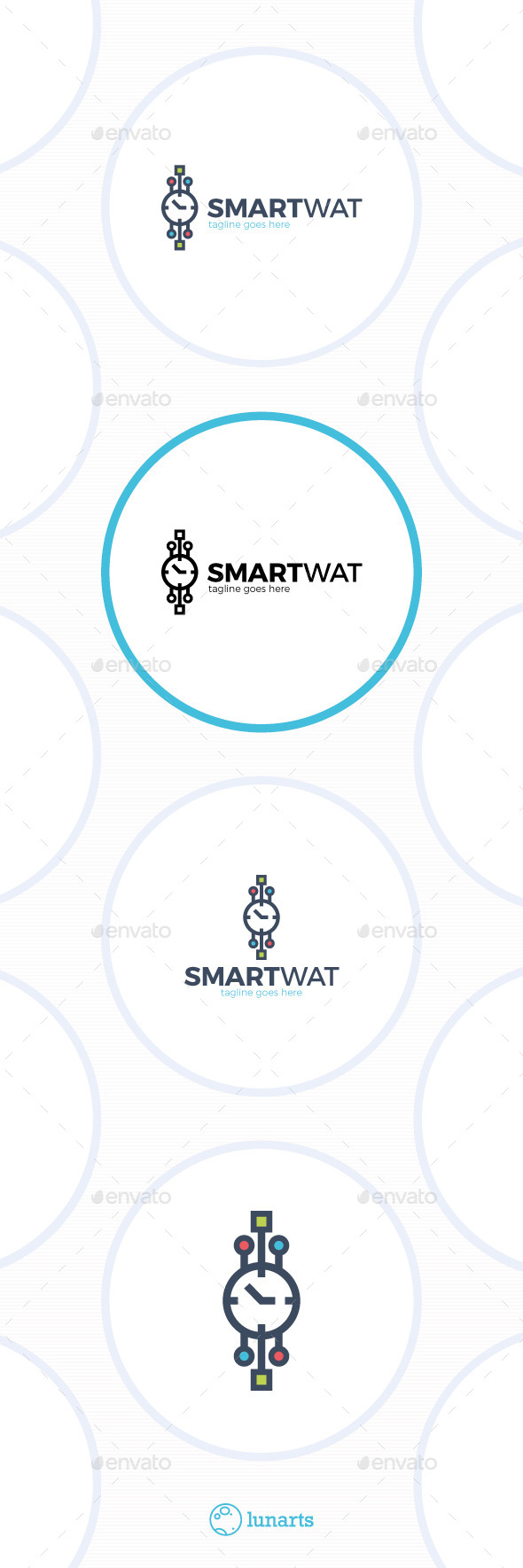 GraphicRiver Smart Watch Logo 11893050