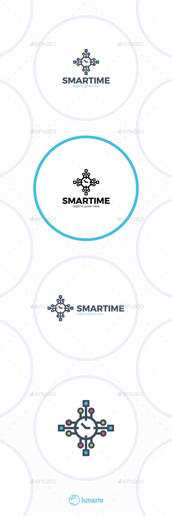 GraphicRiver Smart Time Logo Watch 11893365