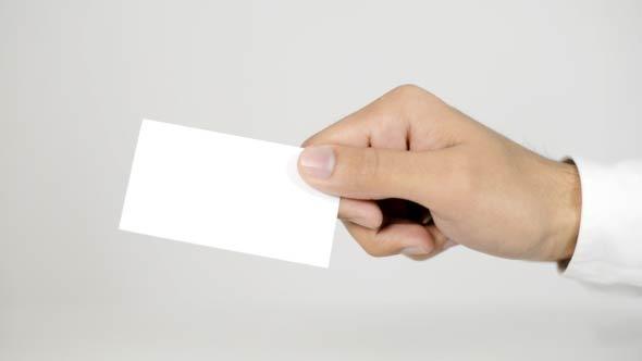 Blank Visit Card 02