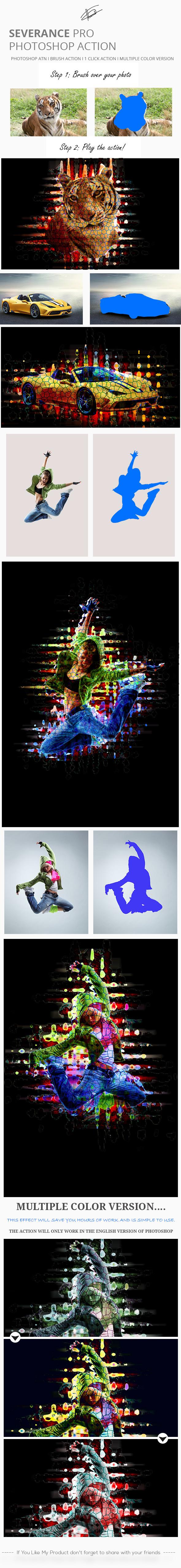 GraphicRiver Severance Pro Photoshop Action 11893471