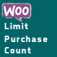 WooCommerce Limit Product Purchase Count