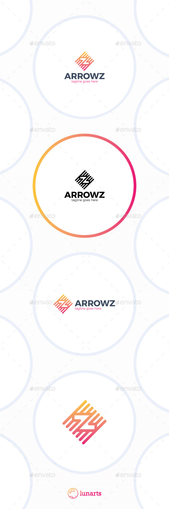GraphicRiver Double Arrow Line Logo Letter Z 11893681