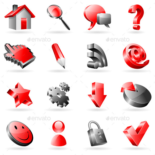 GraphicRiver Web Icons 11893787