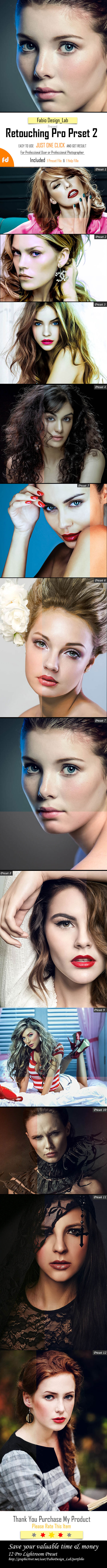 GraphicRiver Retouching Pro Preset Vol.2 11878533