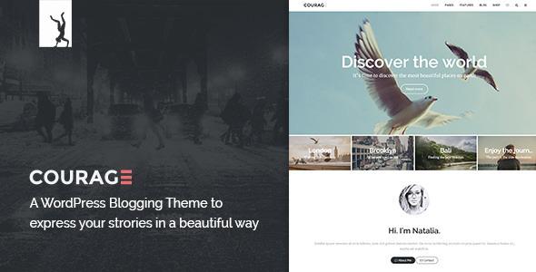 A Clean WordPress Blogging Theme (Blog / Magazine) Download