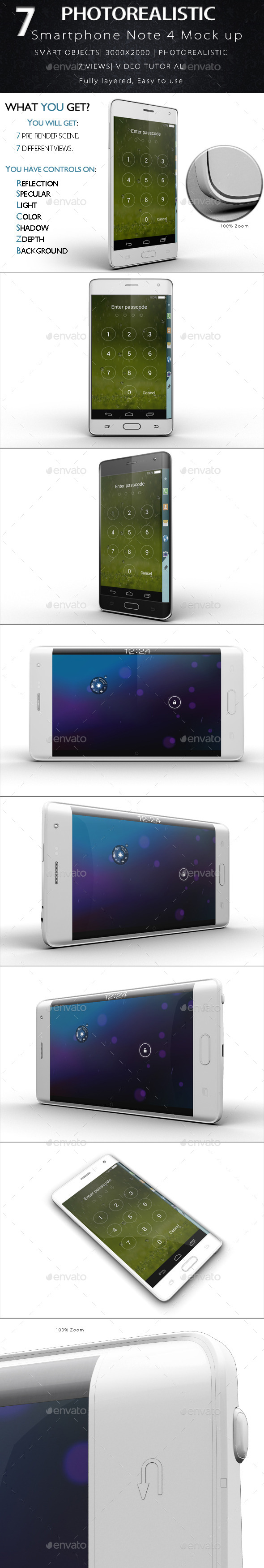 GraphicRiver Galaxy Note Edge Smartphone Mock Up 11893846