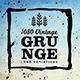1080 Vintage Grunge Logo Variations